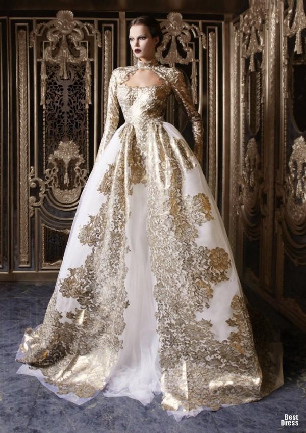 Rami Kadi8 - Vestidos de Noiva Coloridos - Inspirações