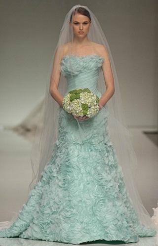 Romona Keveza - Vestidos de Noiva Coloridos - Inspirações