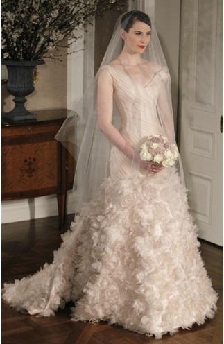 Romona Keveza2 - Vestidos de Noiva Coloridos - Inspirações