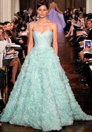 Romona Keveza3 - Vestidos de Noiva Coloridos - Inspirações