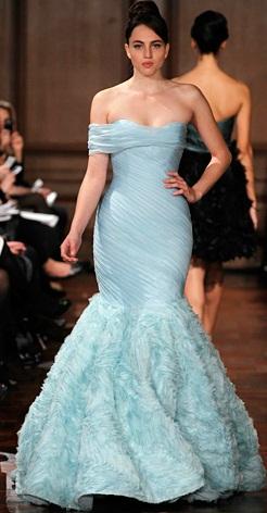 Romona Keveza4 - Vestidos de Noiva Coloridos - Inspirações