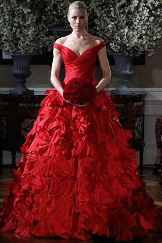 Romona Keveza5 - Vestidos de Noiva Coloridos - Inspirações
