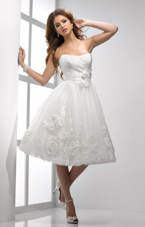SotteroMidgley1 1 - Vestidos de Noiva Curtos