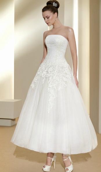 Vestido curto Fara Sposa 2 - Vestidos de Noiva Curtos