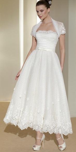 Vestido curto Fara Sposa 3 - Vestidos de Noiva Curtos
