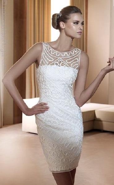 Vestido curto Pronovias 2 - Vestidos de Noiva Curtos