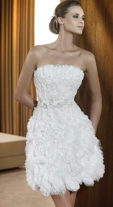 Vestido curto Pronovias - Vestidos de Noiva Curtos