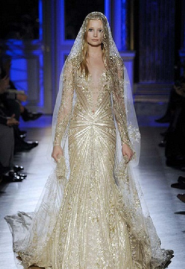 Zuhair Murad 1 - Vestidos de Noiva Coloridos - Inspirações
