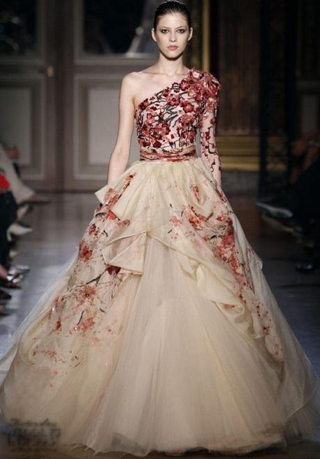 Zuhair Murad3 1 - Vestidos de Noiva Coloridos - Inspirações