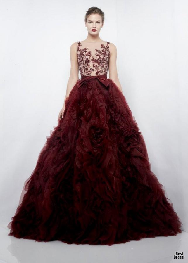 Zuhair Murad5 1 - Vestidos de Noiva Coloridos - Inspirações