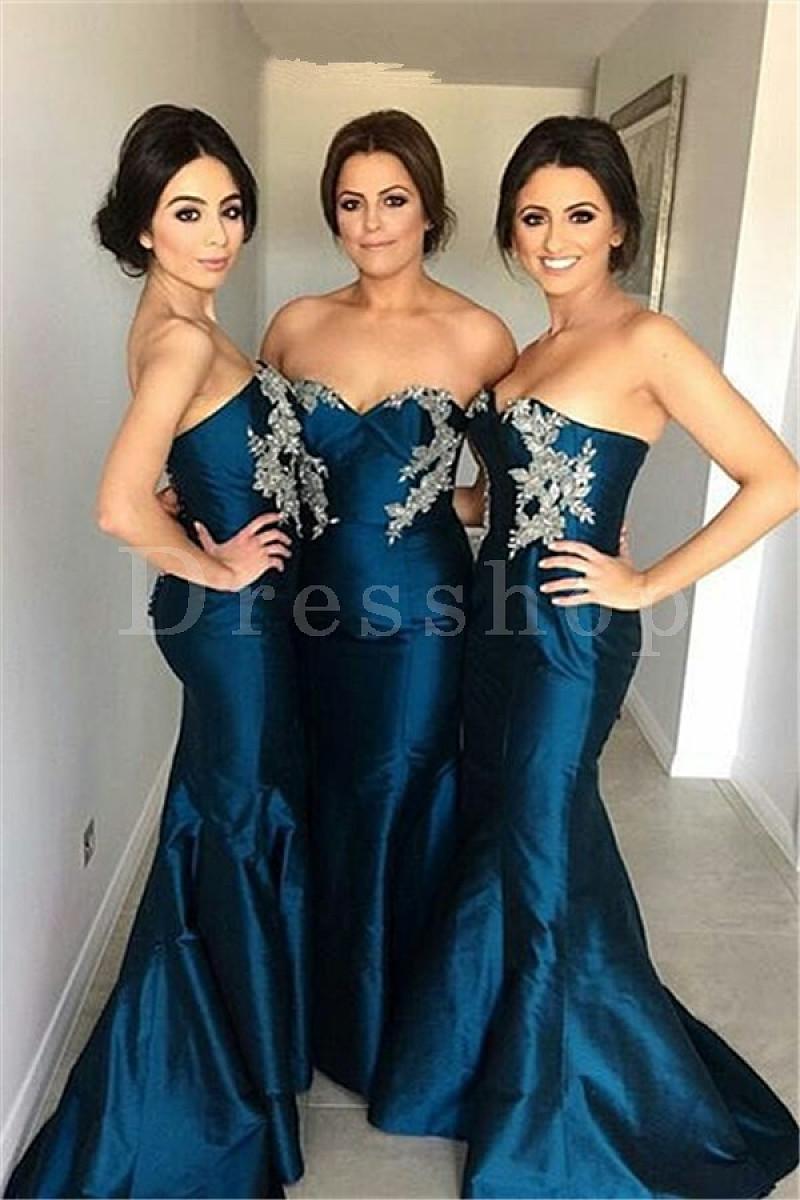 azul 1 - Damas de Honor - Inspirações