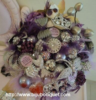 bijou bouquet 1 - Ramos artísticos com Jóias