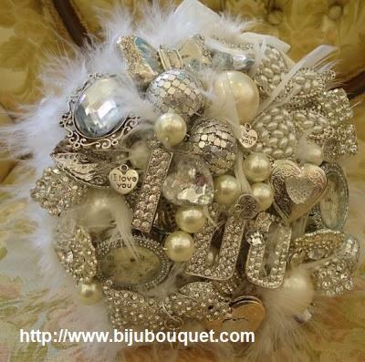 bijou bouquet 2 - Ramos artísticos com Jóias