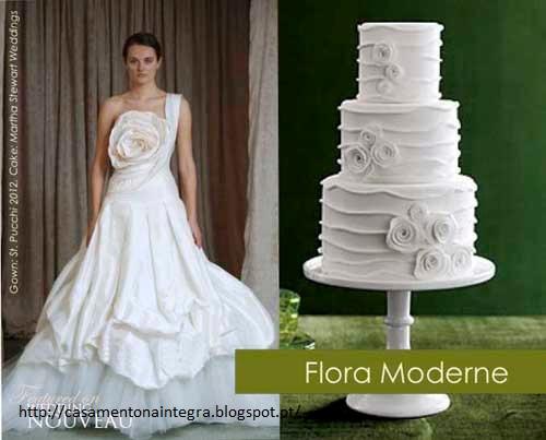 bolo15 - Bolo de casamento inspirado no vestido da noiva