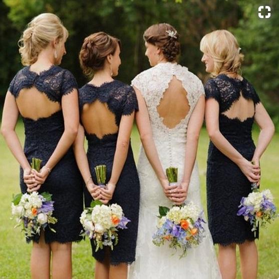 damas pinteres azul3 1 - Damas de Honor - Inspirações