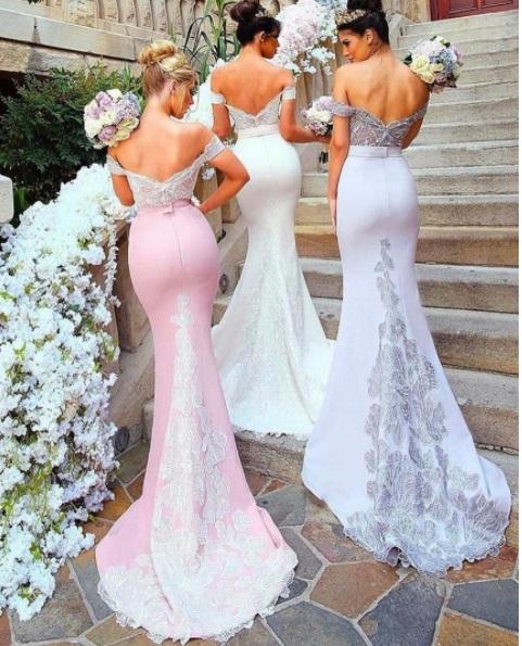 damas pinteres rosa6 - Damas de Honor - Inspirações