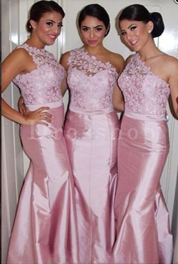 damas pinteres rosa7 - Damas de Honor - Inspirações