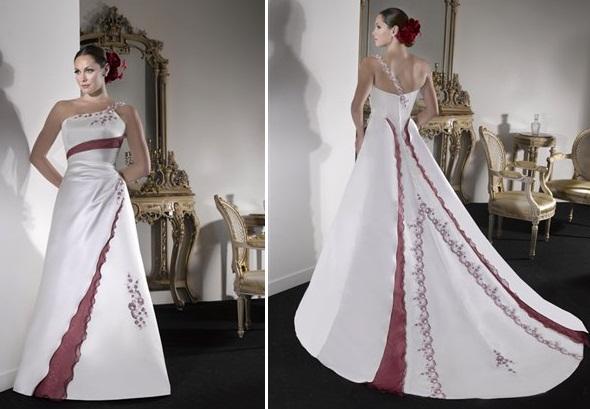 gelen - Vestidos de Noiva Coloridos - Inspirações