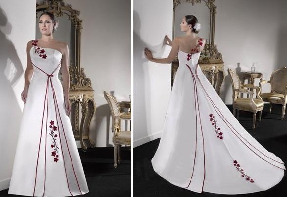 gelen3 - Vestidos de Noiva Coloridos - Inspirações