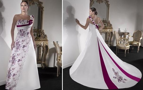 gelen4 - Vestidos de Noiva Coloridos - Inspirações
