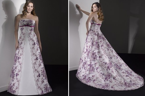 gelen5 - Vestidos de Noiva Coloridos - Inspirações