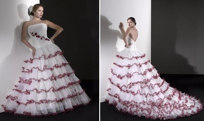 gelen6 - Vestidos de Noiva Coloridos - Inspirações