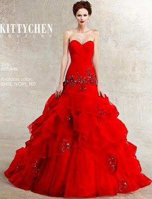 kitten couture - Vestidos de Noiva Coloridos - Inspirações