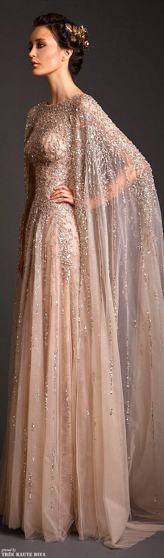 krikor jabotian2 - Vestidos de Noiva Coloridos - Inspirações