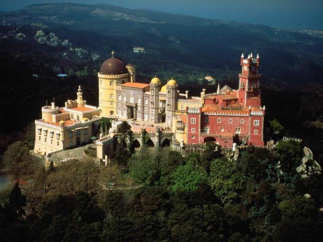 pena palace sintra - Lua de Mel em Portugal