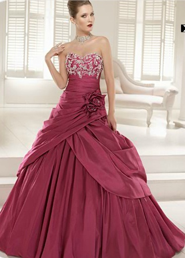 ronald joyce2 - Vestidos de Noiva Coloridos - Inspirações