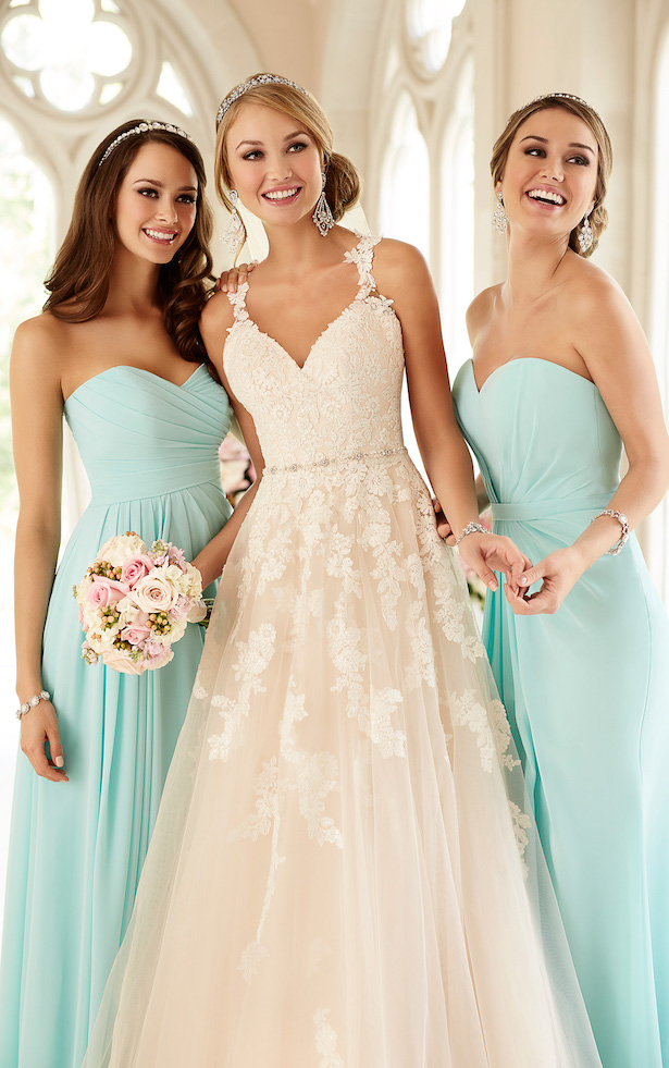 stella york spring 2016 wedding dress 1 1 - Damas de Honor - Inspirações