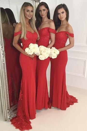 vermelho - Damas de Honor - Inspirações