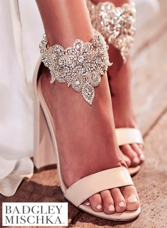 Badgley Mischka - Sapatos de princesa