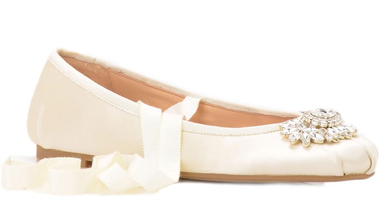 Badgley Mishka3 - Calçado baixo e raso para noivas