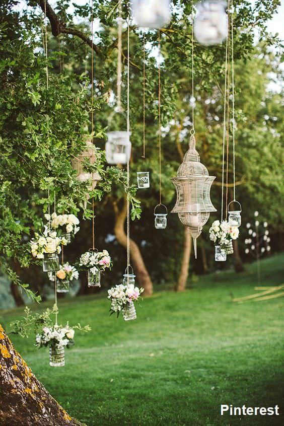 Casamento jardim15 - Decoração de Jardim - Inspirações