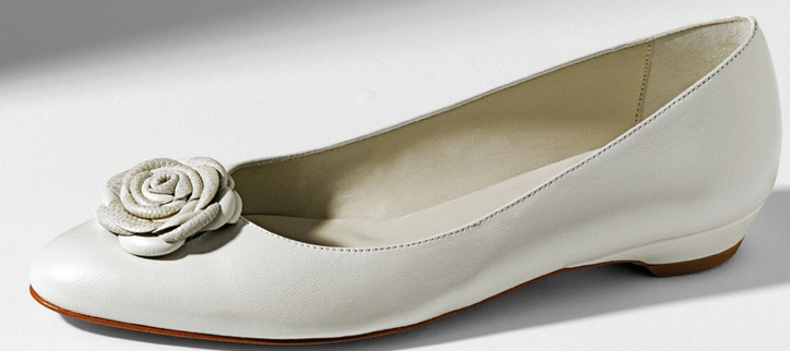 Doriani2 1 - Calçado baixo e raso para noivas