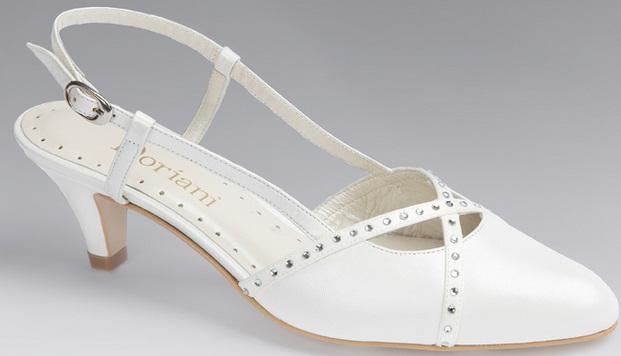Doriani3 1 - Calçado baixo e raso para noivas