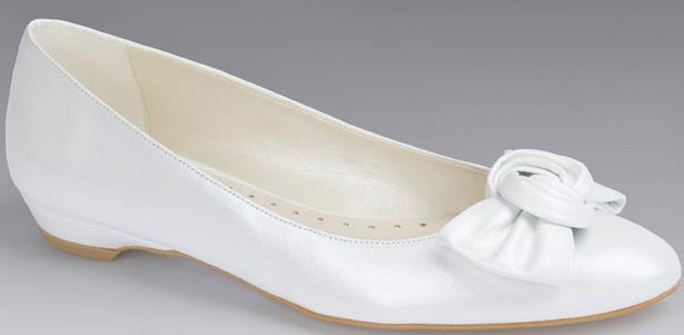 Doriani4 - Calçado baixo e raso para noivas