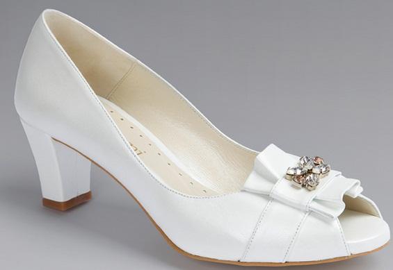 Doriani5 - Calçado baixo e raso para noivas