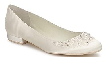 Menbur2 1 - Calçado baixo e raso para noivas