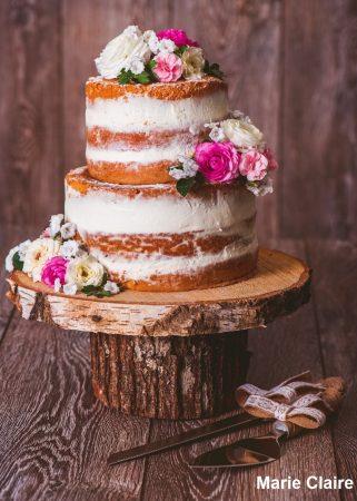 Naked Cake11 321x450 - Bolo de Casamento Naked Cake - Inspirações