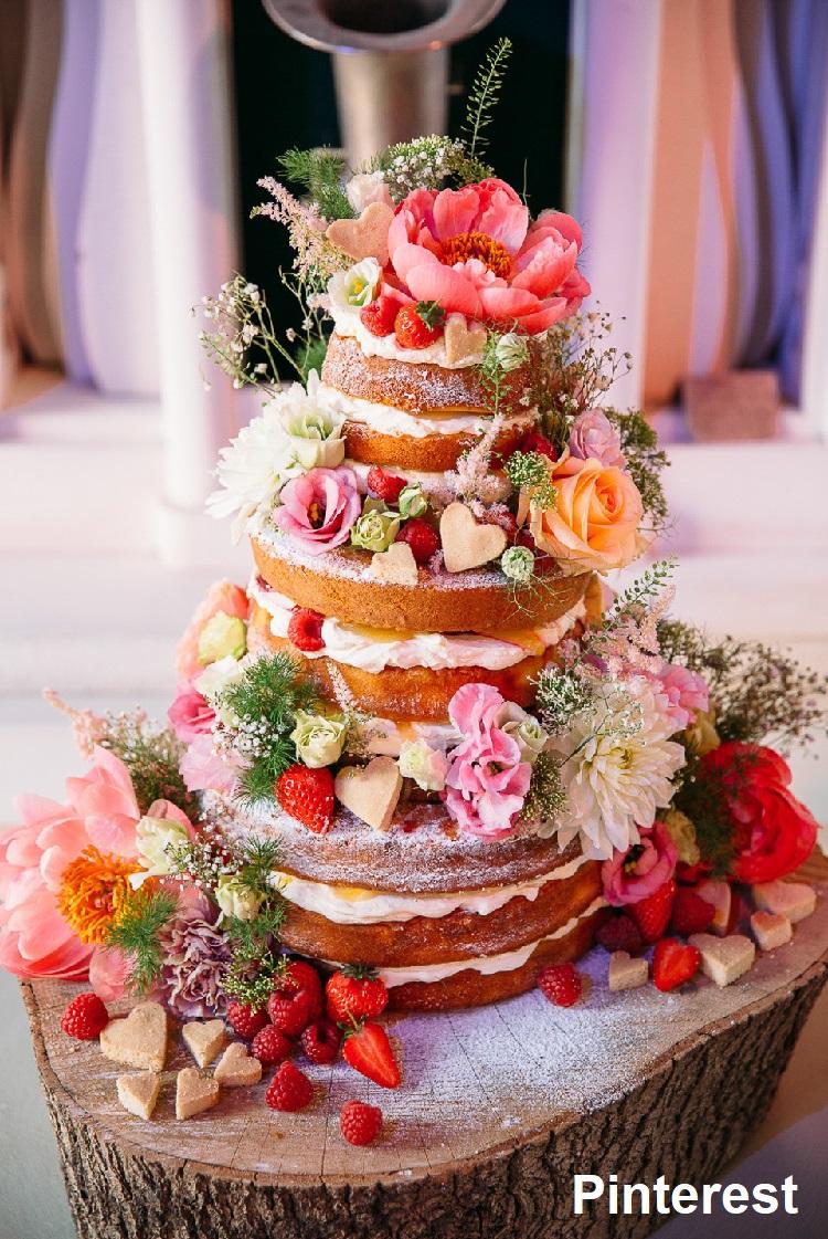 Naked Cake12 - Bolo de Casamento Naked Cake - Inspirações