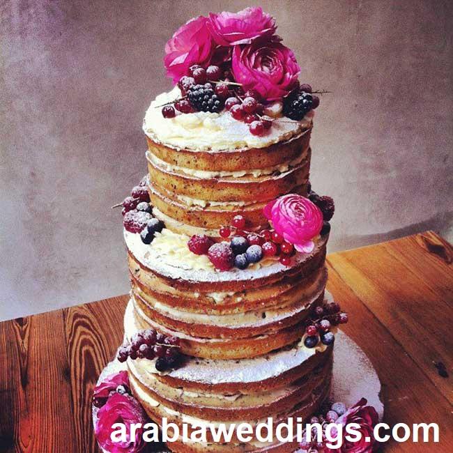 Naked Cake13 - Bolo de Casamento Naked Cake - Inspirações