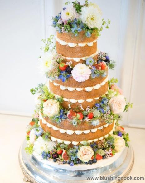 Naked Cake14 - Bolo de Casamento Naked Cake - Inspirações