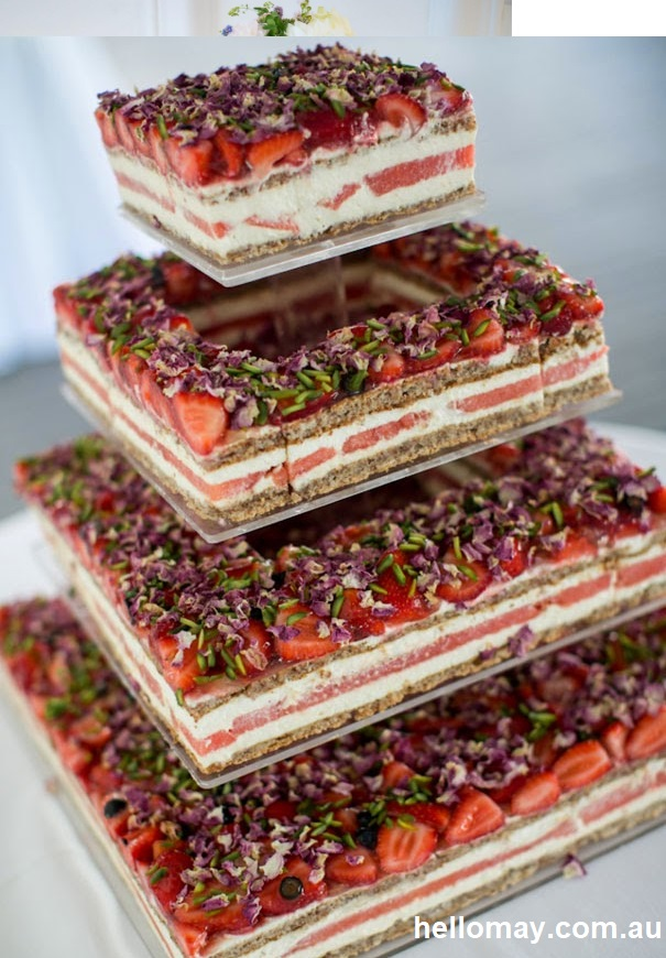 Naked Cake15 - Bolo de Casamento Naked Cake - Inspirações