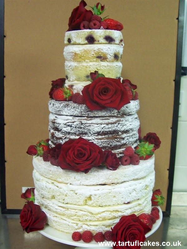 Naked Cake5 - Bolo de Casamento Naked Cake - Inspirações