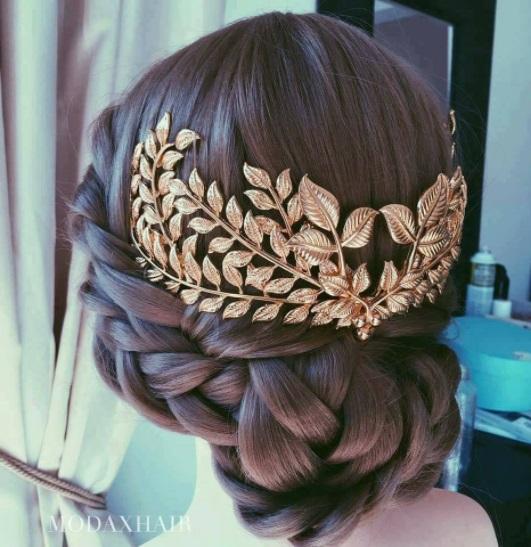 Penteado com tranças13 - Penteados com trança