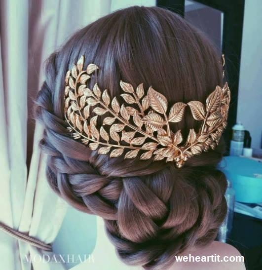 Penteados com cabelos apanhados13 - Penteados com cabelo apanhado