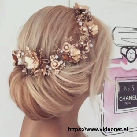 Penteados com cabelo apanhado