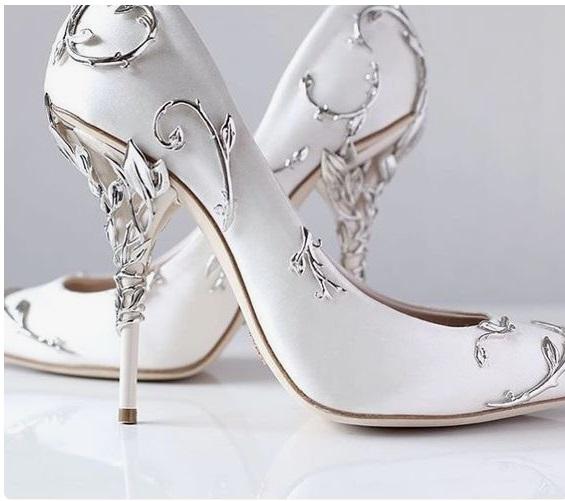 Ralph Russo - Sapatos de princesa